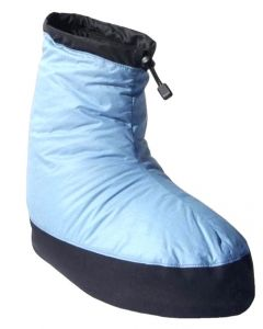 Western Mountaineering Down Booties Blue