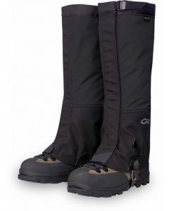 Outdoor Research Crocodile Gaiters - Men's Black