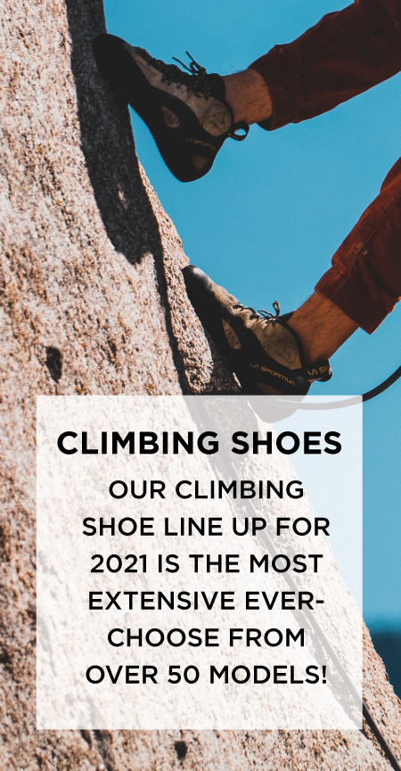 Most Extensive Climbing Shoe Line Ever!