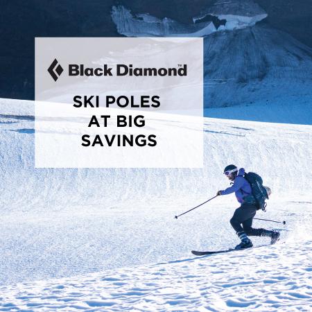 Black Diamond Ski Poles at Big Savings