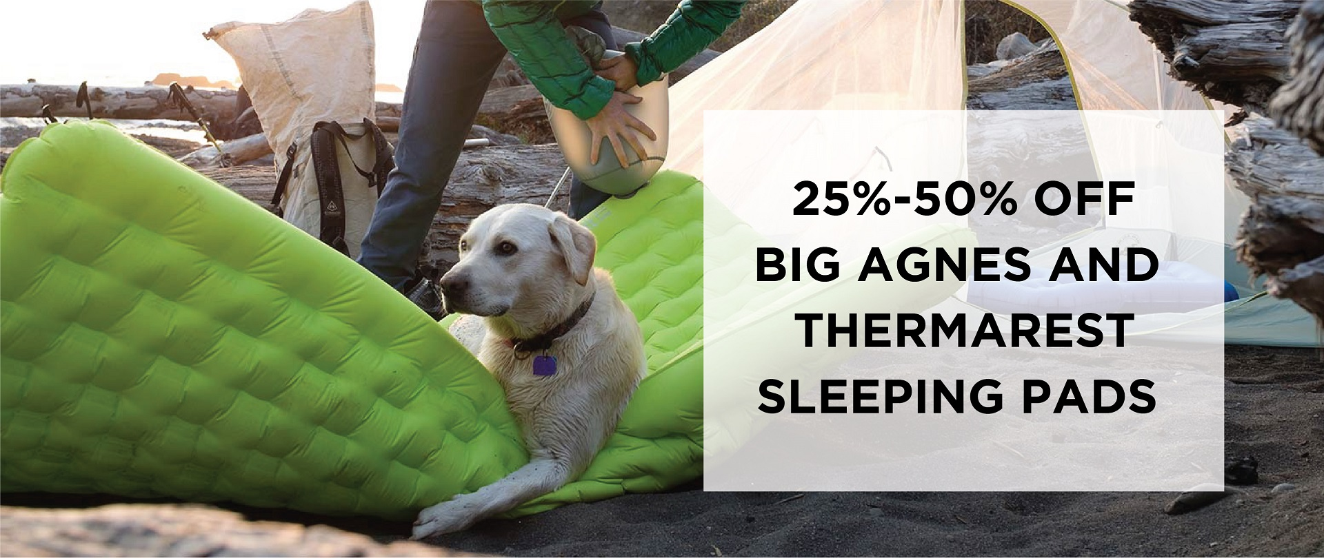 Sleeping Pads on SALE!