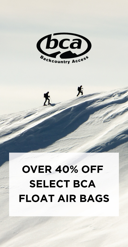 BCA Float Pack sale