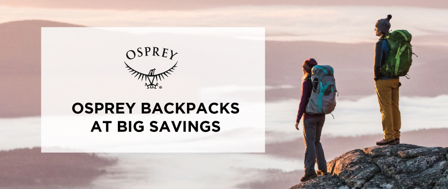 Osprey Backpacks At Big Savings
