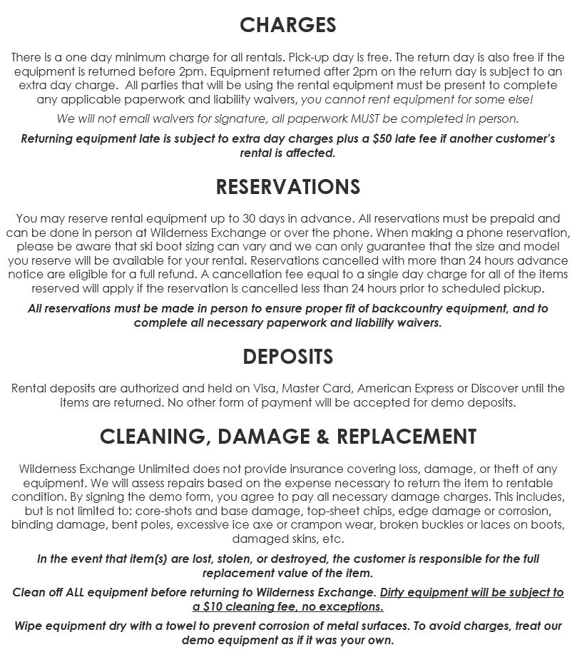 Rental Details