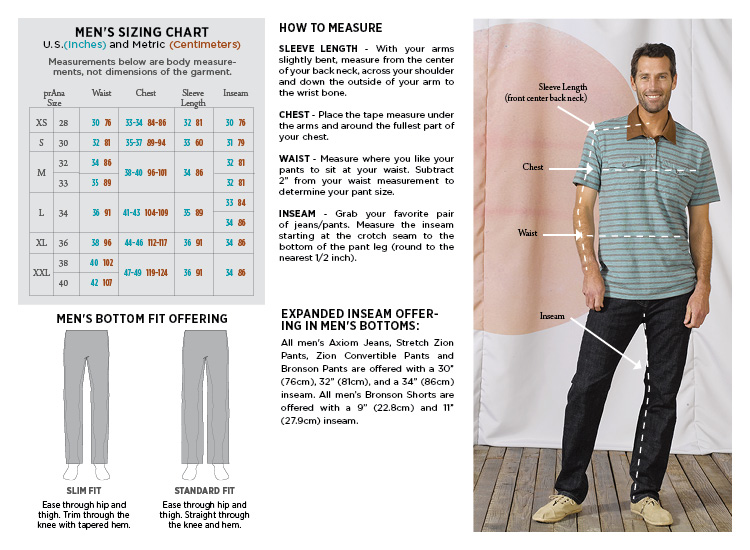 Prana lukas slim shirt men 39 s wilderness exchange for Slim fit shirt size chart