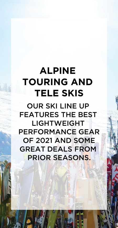 AT and Tele Ski Line Up
