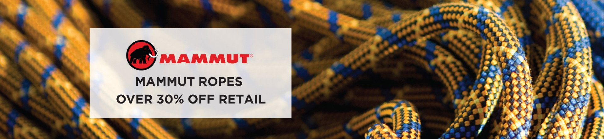 Mammut ropes over 30% off retail