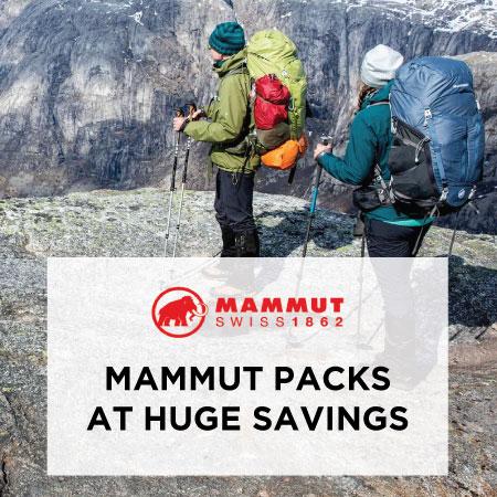 Mammut Pack Closeouts