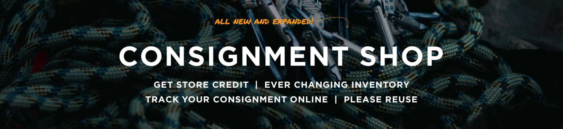 New expanded consignment shop!