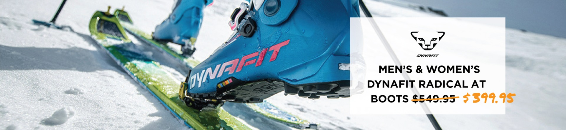 Men's and Women's Dynafit Radical Boots $399.95